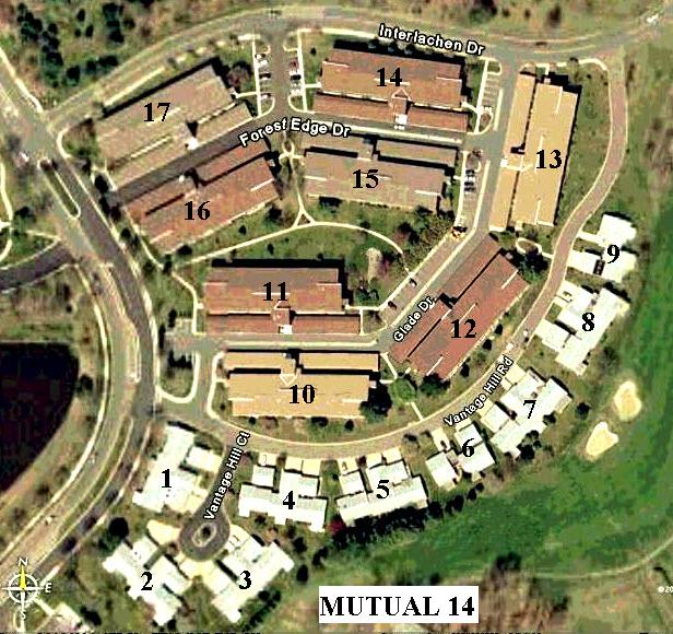 Mutual 14 Maps | Mutual 14 - Leisure World of Maryland